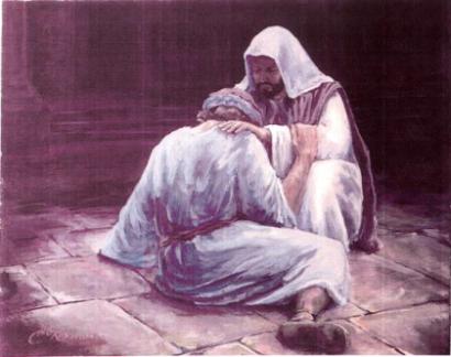 Jesus loves His broken ones.