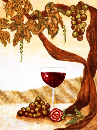 Wine_&_Roses_Still_Life_Paintings