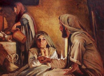 Mary-Jesus-feet