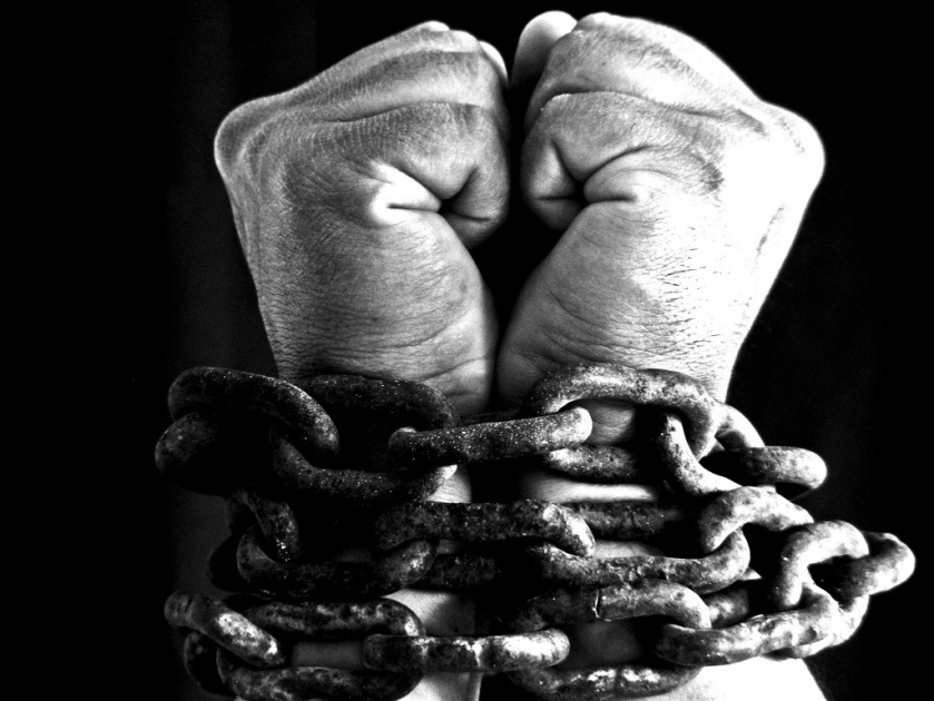 Image result for chained hands