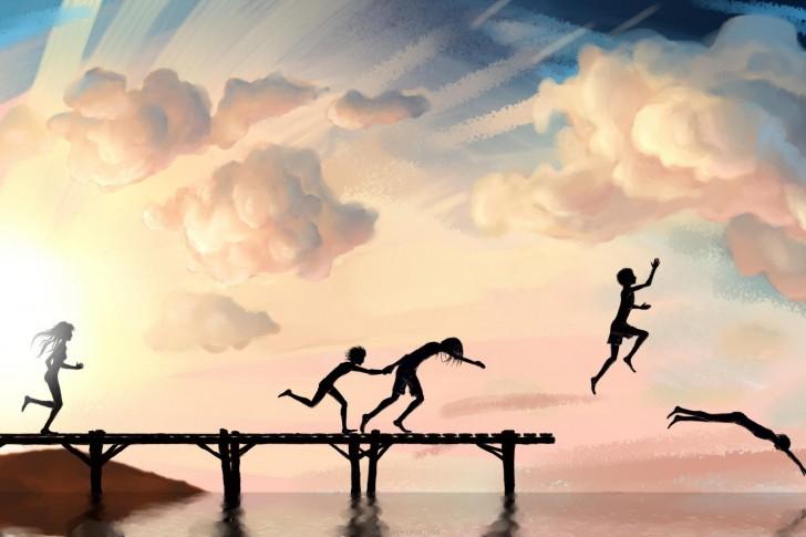 joy-art-bath-children-jump-sea-485x728