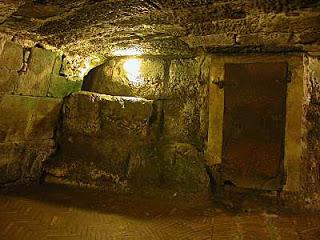 Paul's cell at Mamertine