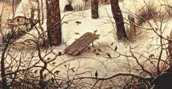 "Peter Bruegel, ""The Bird Snare"""