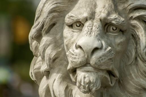 lion-statue-zoo-37609
